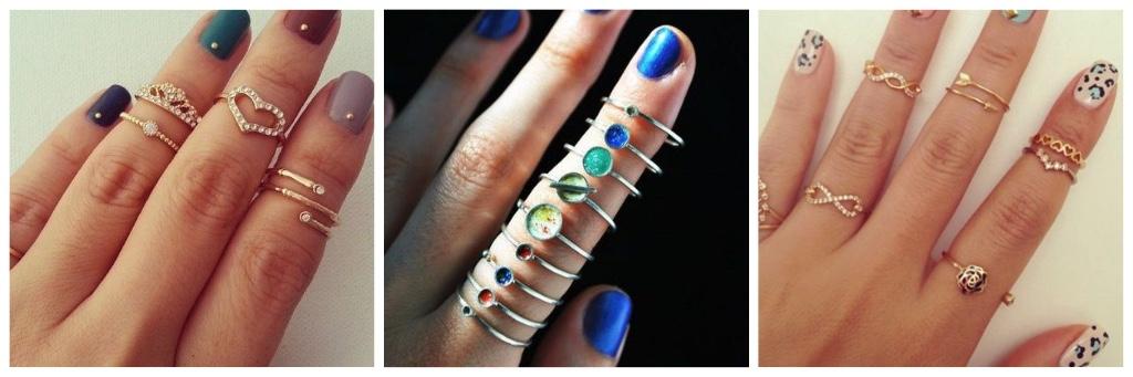 tendencias de moda 2017 anillos bajos
