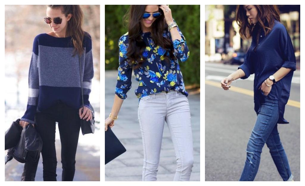 tendencias de moda 2017 azul