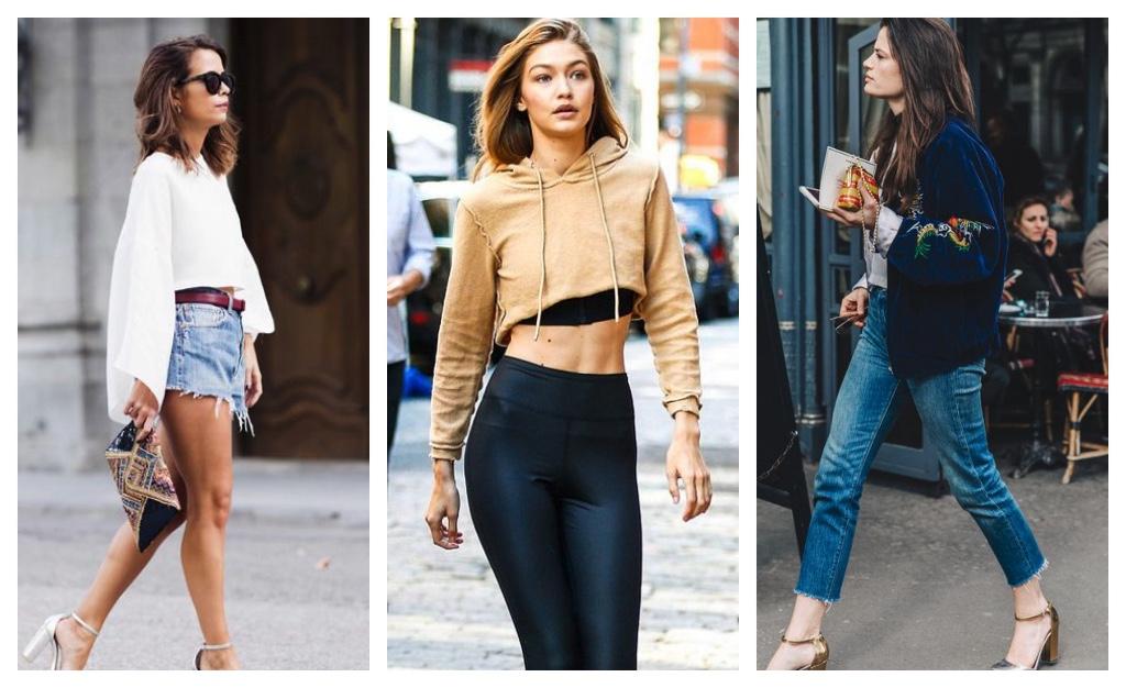 tendencias de moda 2017 prendas recortadas