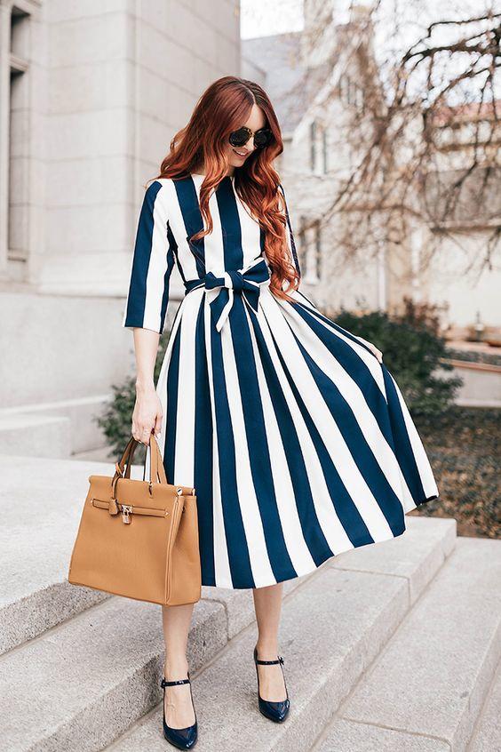 tendencias de moda 2017 stripes