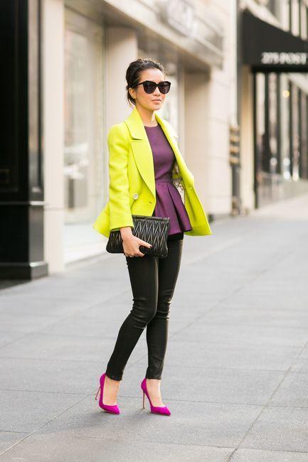 tendencias de moda neonn