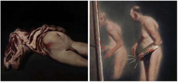 terror scary paintings