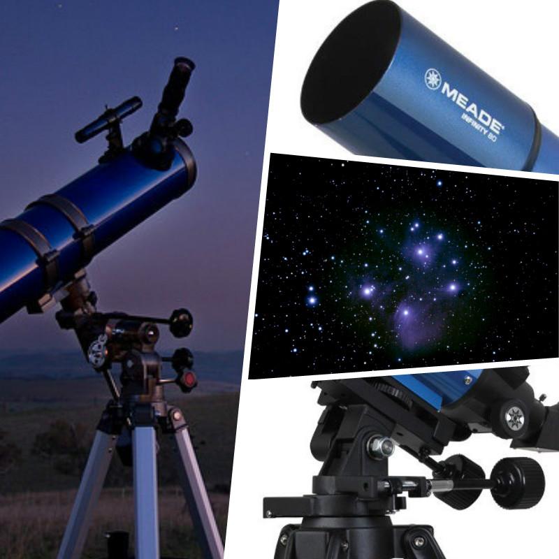 tipos de telescopio meade