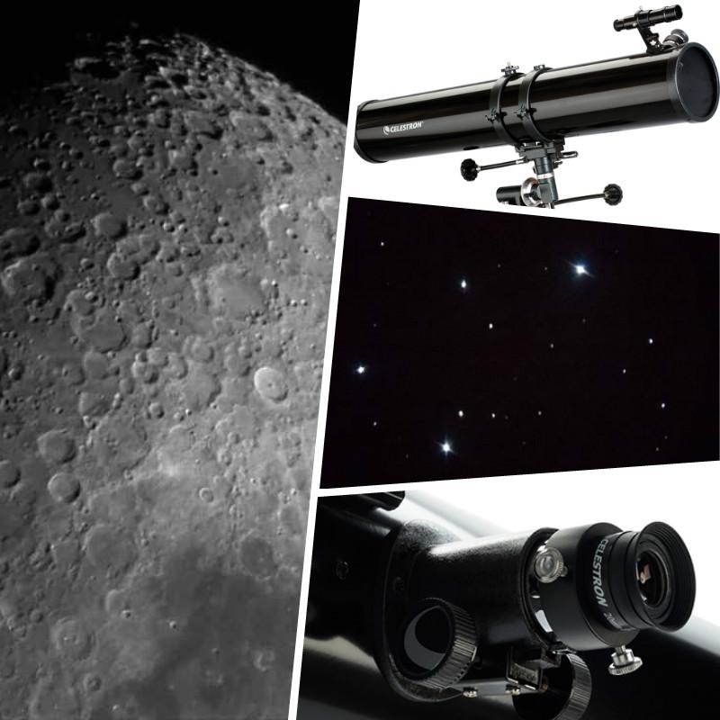 tipos de telescopios celestron114