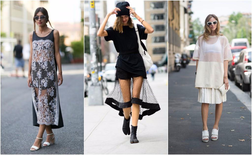 Prendas fashionistas street style  transparencias