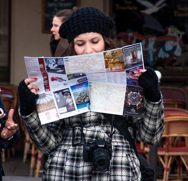 turistas calle