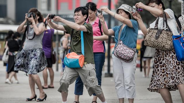 turistas camara