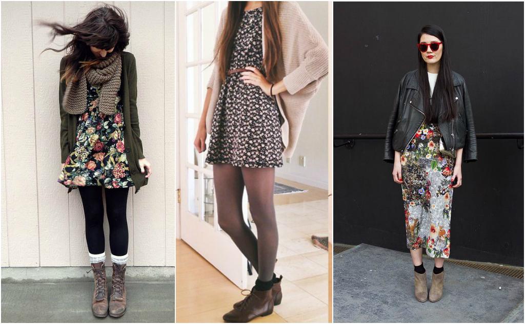 vestido con botas