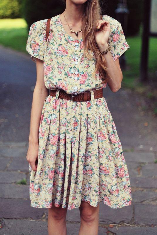 combinar tus vestidos-de-flores