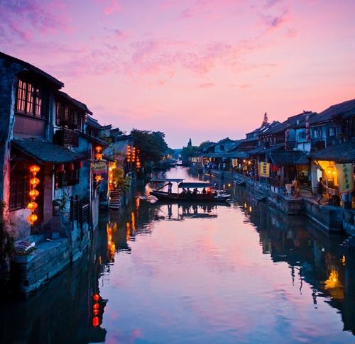 viajar a china noche