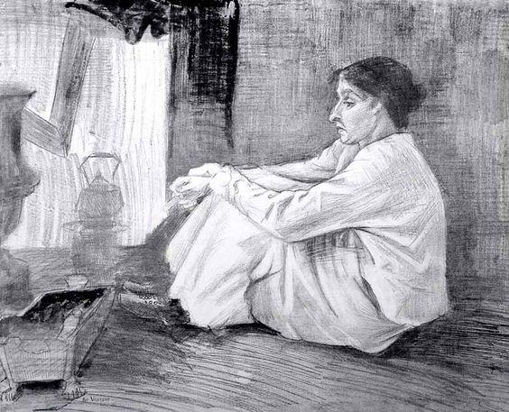 vida amorosa de van gogh María Hoornik (Sien)