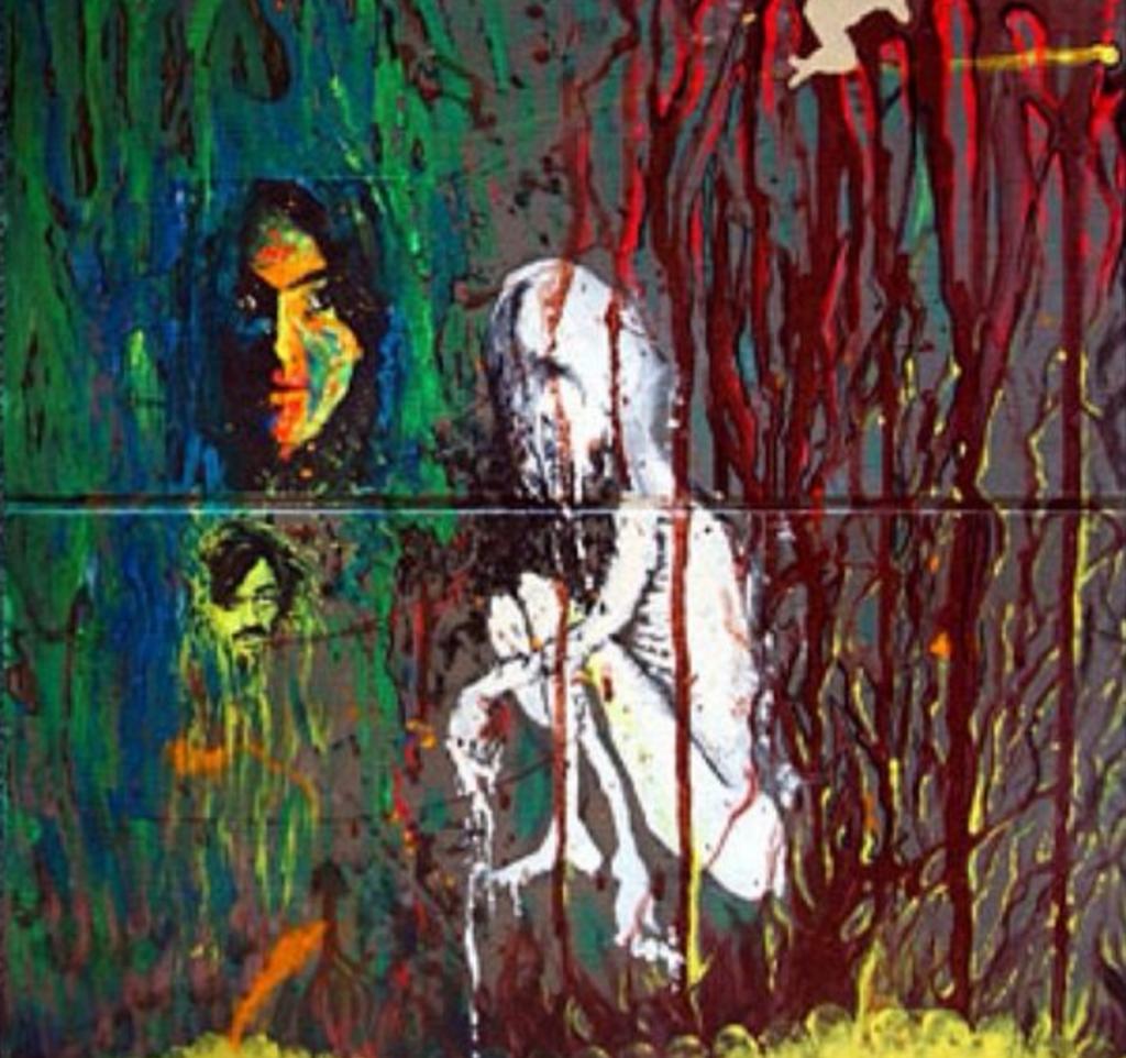 visual art kurt cobain artwork