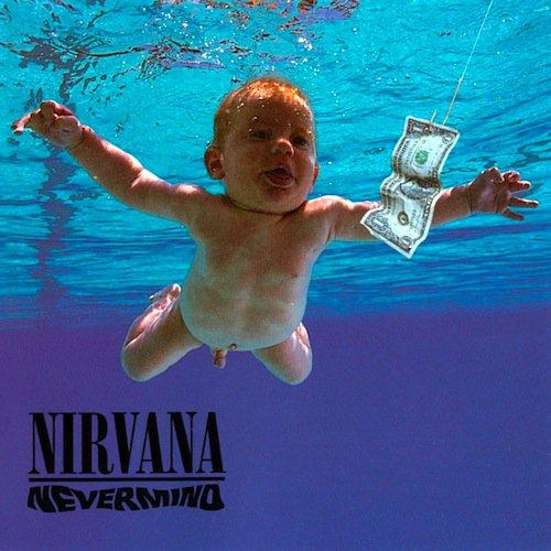 visual art kurt cobain nevermind cover