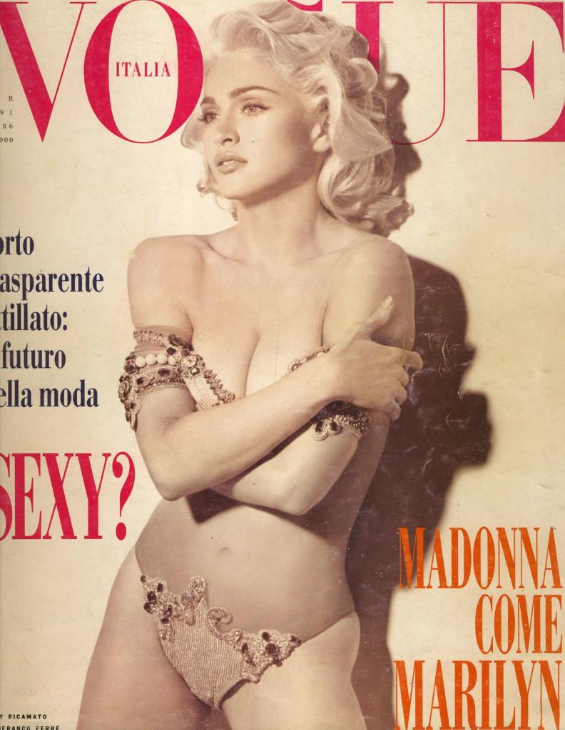 vogue italia madonna moda