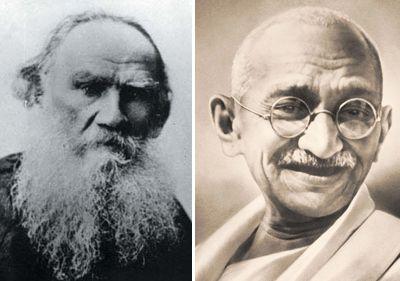 cartas de tolstói gandhi pacifistas