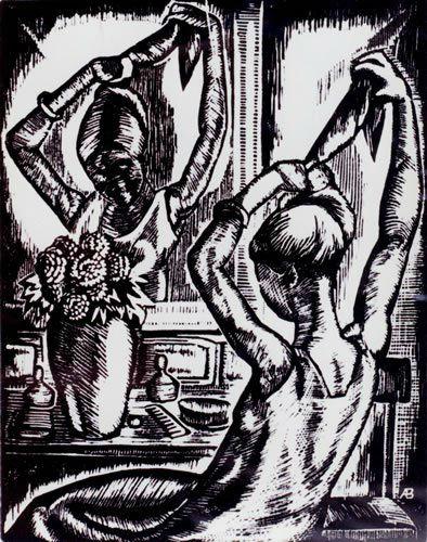 Angelina Beloff better artist than Frida Kahlo engraving-w636-h600