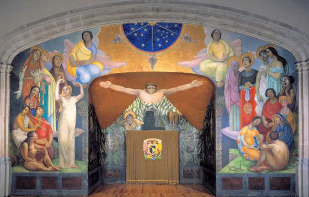 Angelina Beloff better artist than Frida Kahlo mural-w636-h600