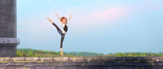 Ballerina animated film sky-w636-h600
