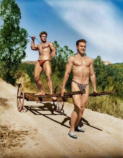 Bob Mizer mens nudity cart-w636-h600