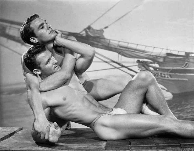 Bob Mizer mens nudity wrestling-w636-h600