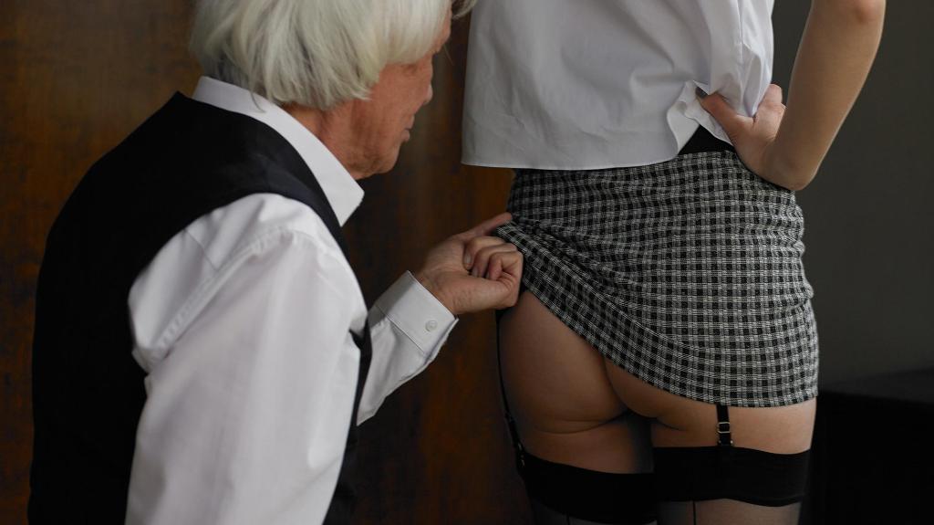 fotografias sexo tercera edad falda