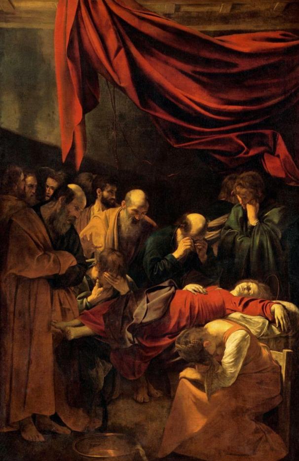 Caravaggiomuertedelavirgen