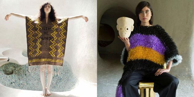 Carla Fernandez Mexican Fashion Designers-w636-h600