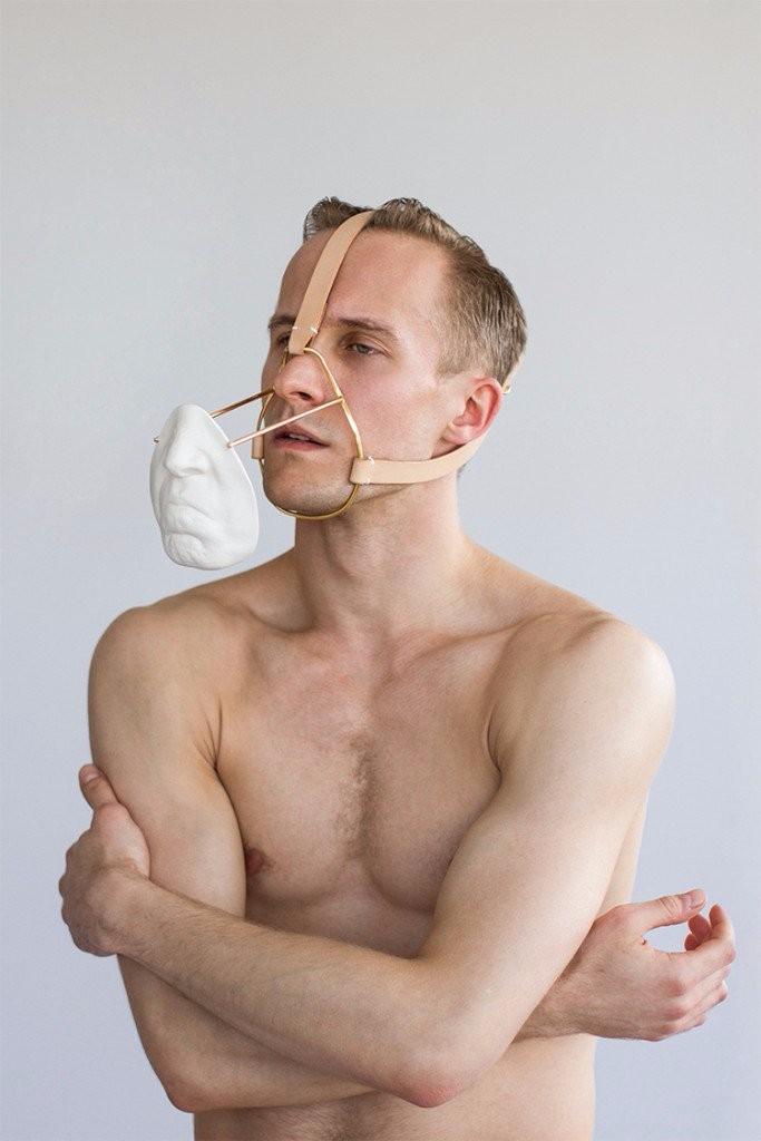 Daniel Ramos Obregon photos psychoanalysis mask