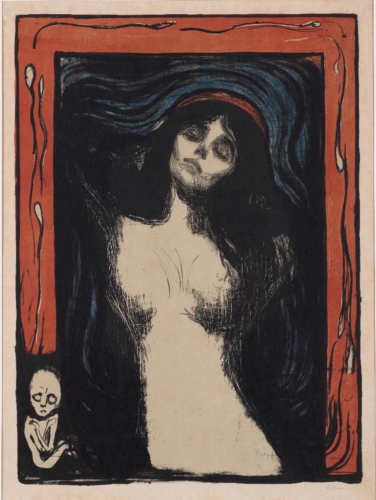 Edvard_Munch Madonna