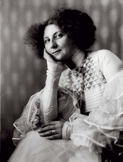 la relación de Emilie Flöge y Gustav Klimt