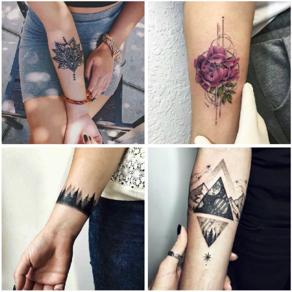 Forearm tattoos rose-w636-h600