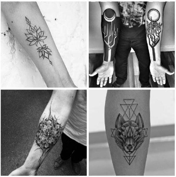 Forearm tattoos wolf-w636-h600