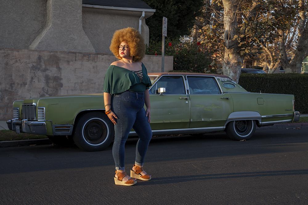 Genevieve Gaignard Womanhood Photography Car