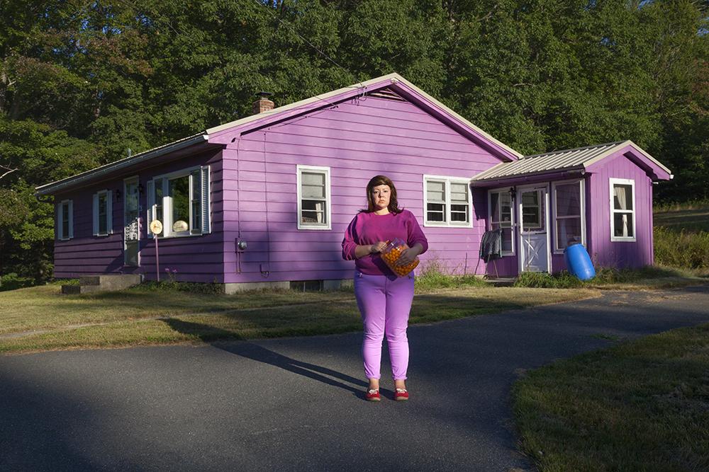 Genevieve Gaignard Womanhood Photography Color Purple