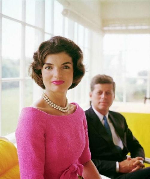 Jackie Kennedy rosa