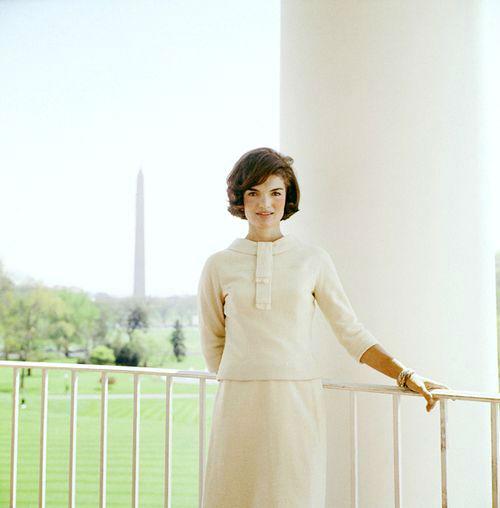 Jackie Kennedy santa