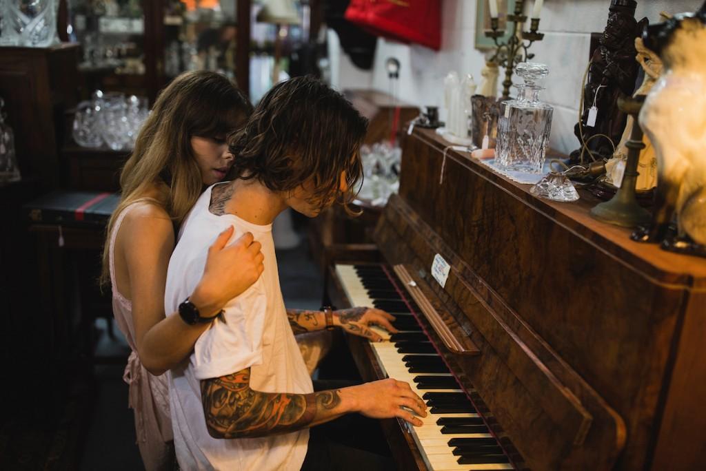 Martin Heidegger piano