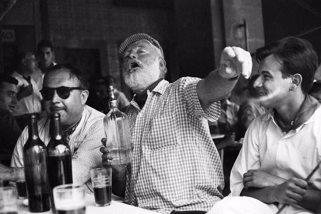 Novels Alcohol Drunk Hemingway