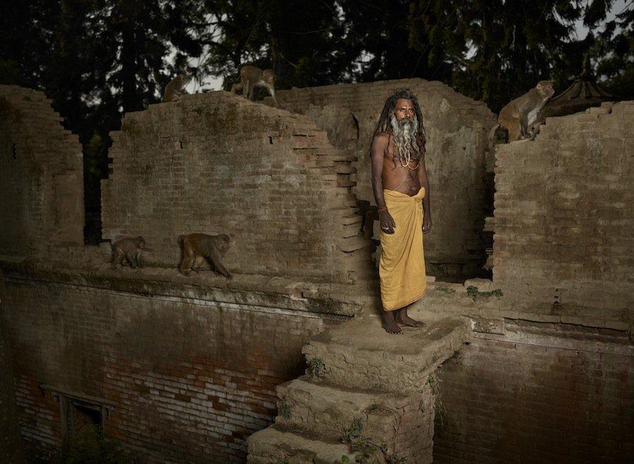 Sadhu Holy Man