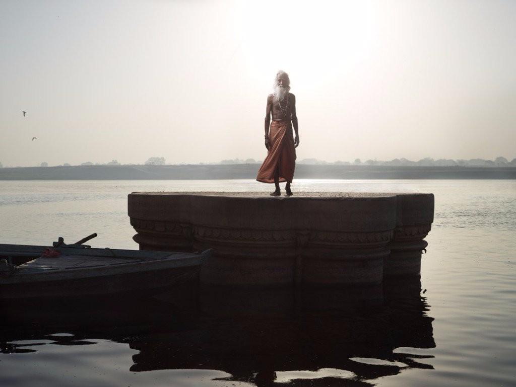 Sadhu Holy Men River