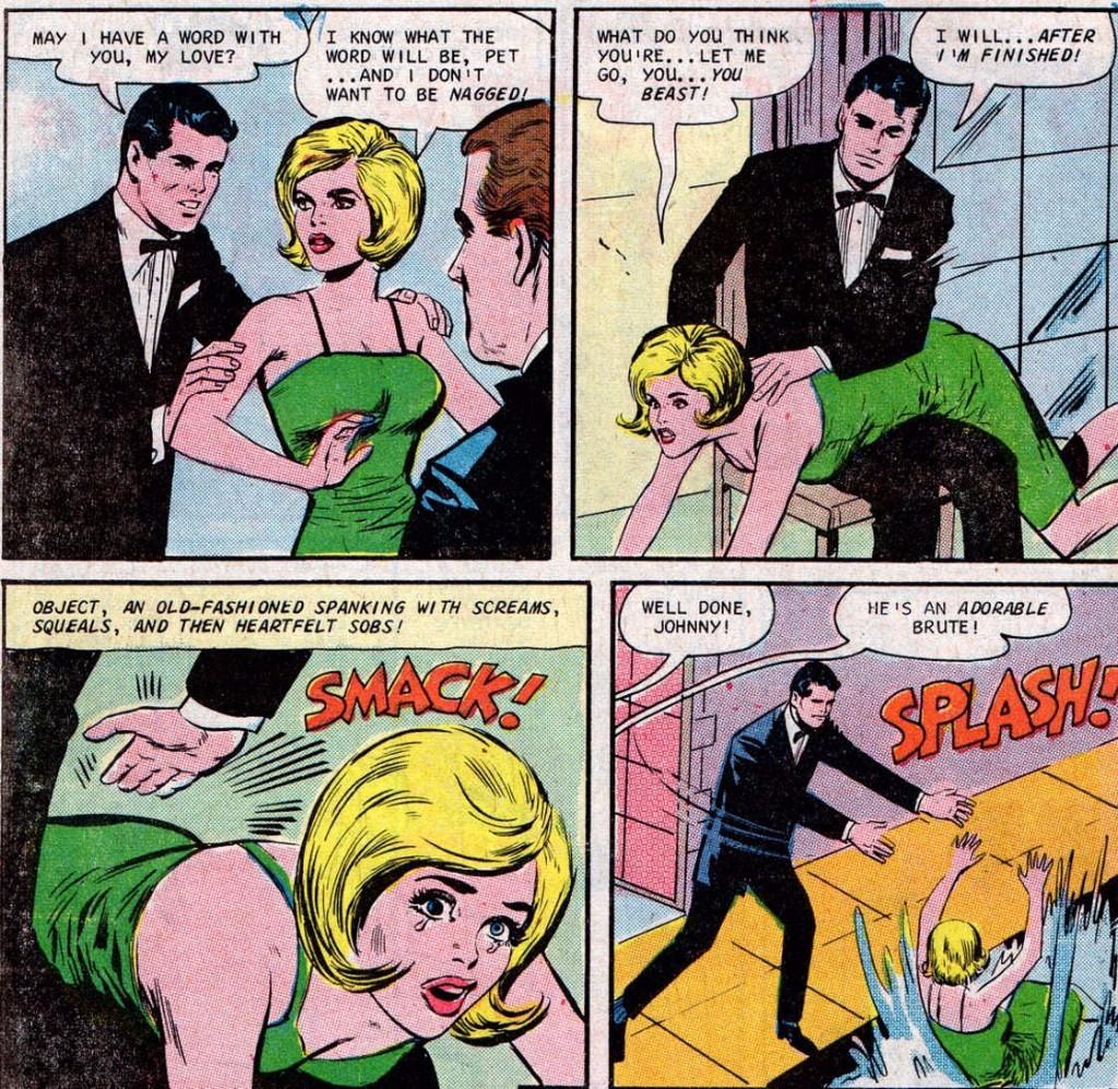 Why do men spank women