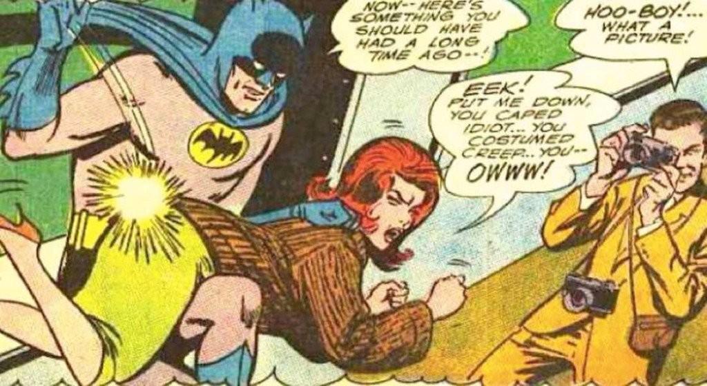 Sexist Batman Comics Classic