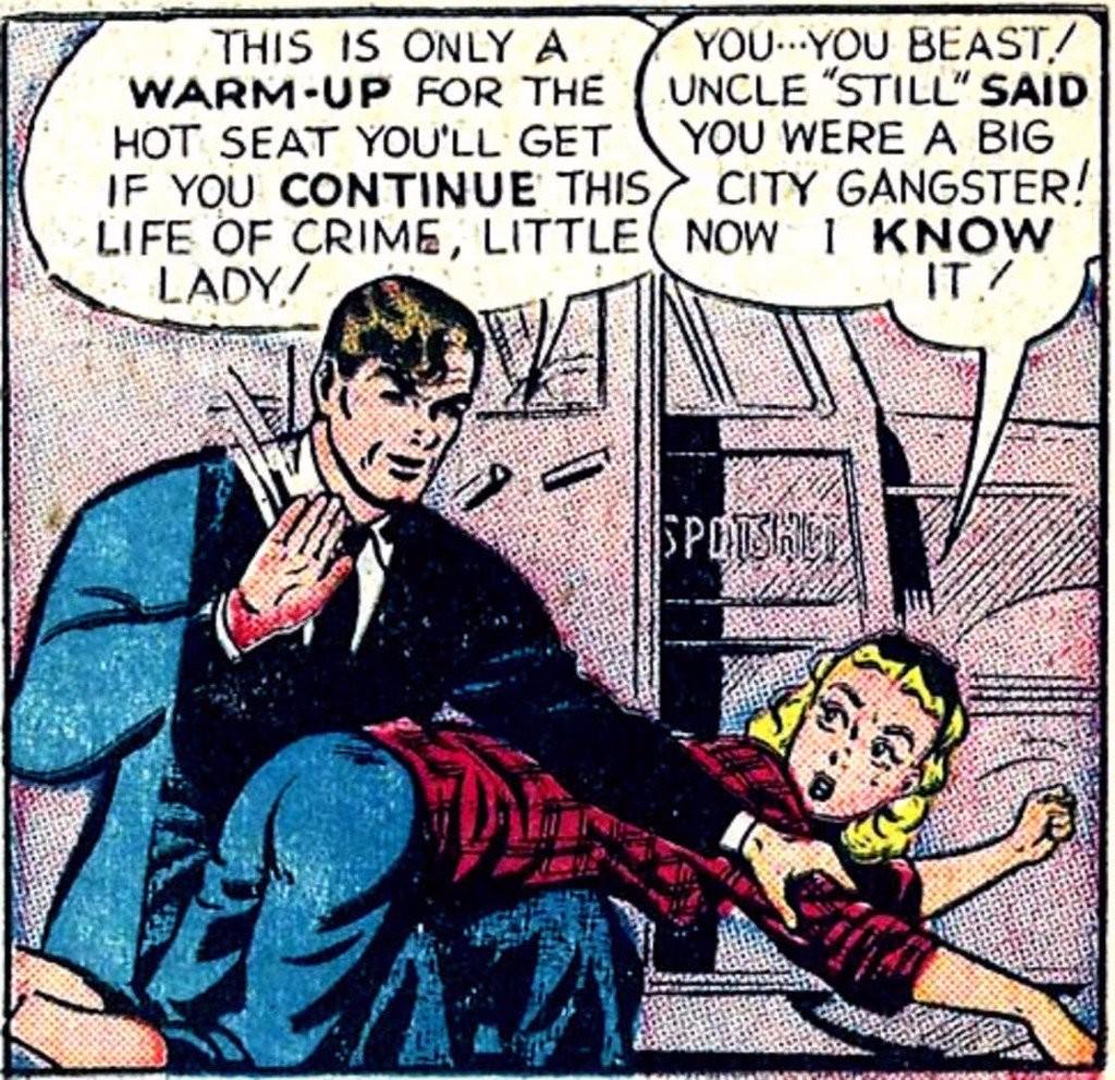 Sexist Batman Comics Litte Lady