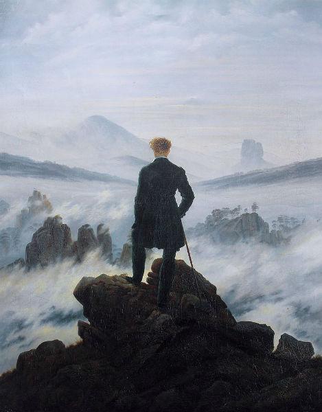 Solitude Paintings Friedrich-w636-h600