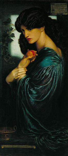 Solitude Paintings Rossetti-w636-h600