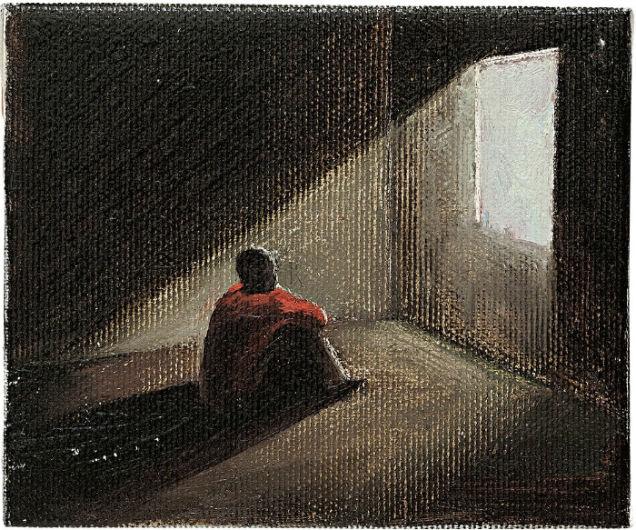 Solitude Paintings Usmonov-w636-h600