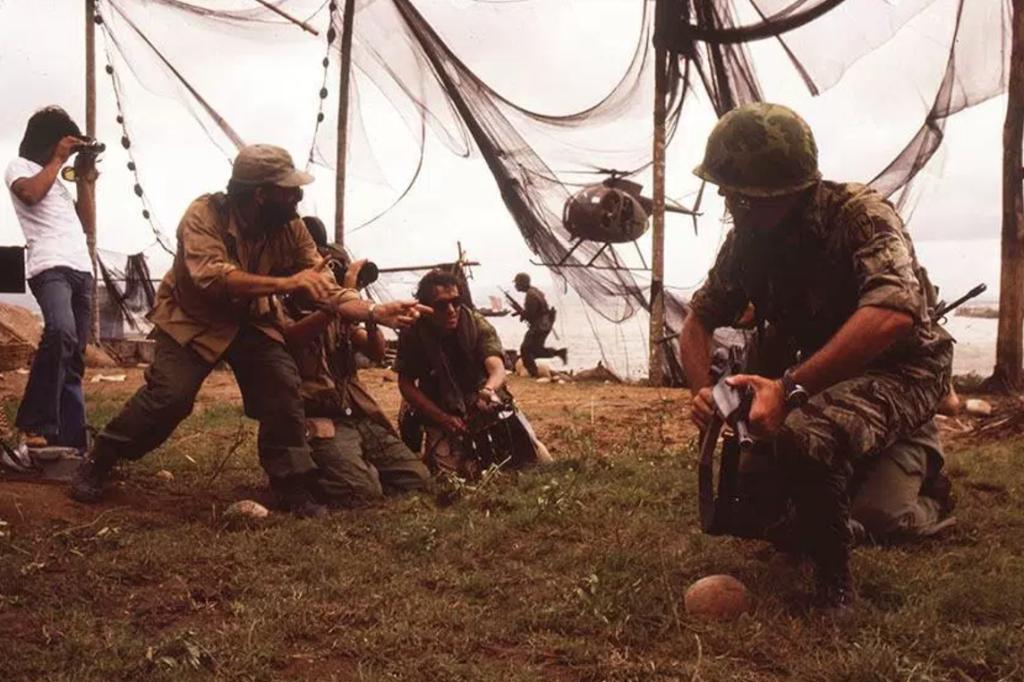 The Making of Apocalypse Now Action Scene
