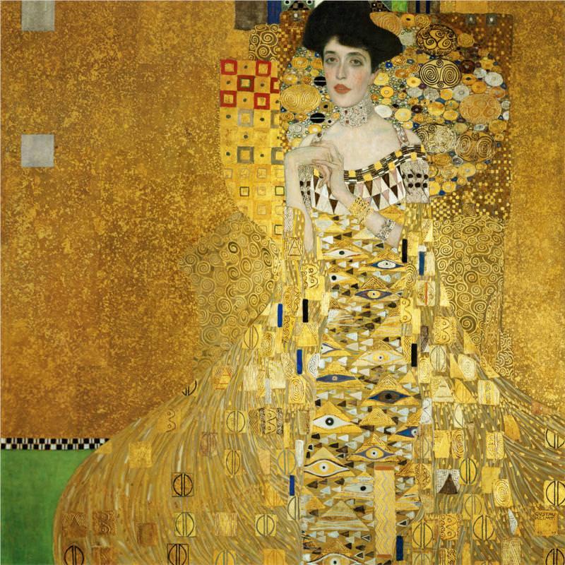 Women Muses Gustav Klimt Adele Bloch-Bauer 1