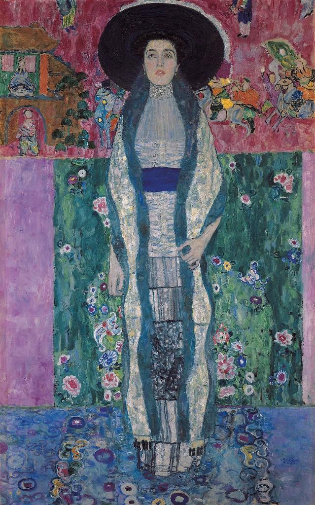 Women Muses Gustav Klimt Adele Block Bauer