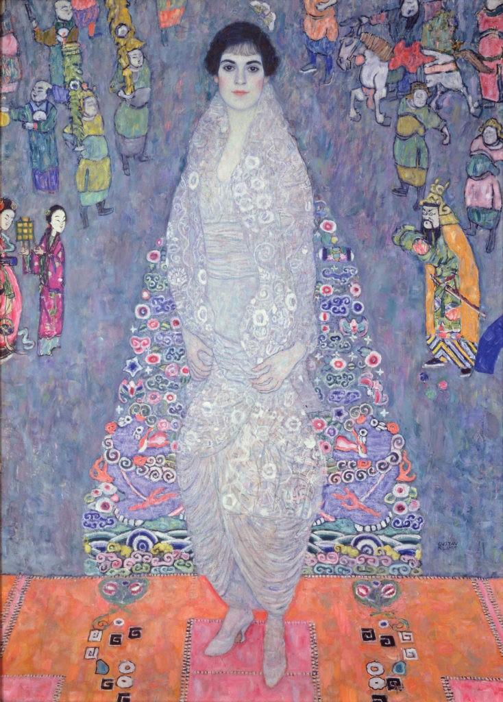 Women Muses Gustav Klimt Elisabeth Lederer